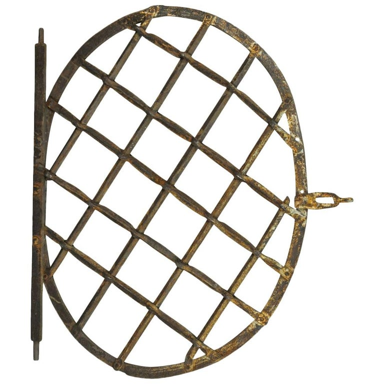 French Early 19th Century Iron Window Guard