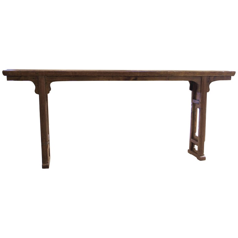 Elmwood Altar Table china Shanxi Province, circa 1780