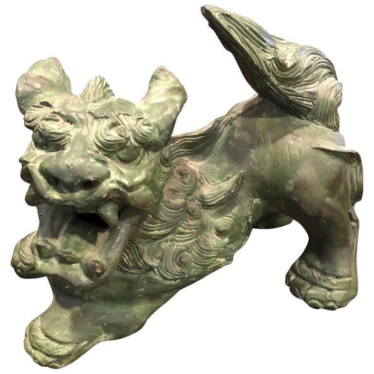 Chinese Terracota Foo Dog