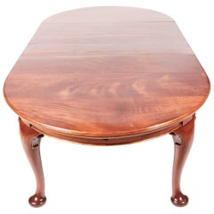 Fantastic Quality Antique Mahogany Extending Dining Table
