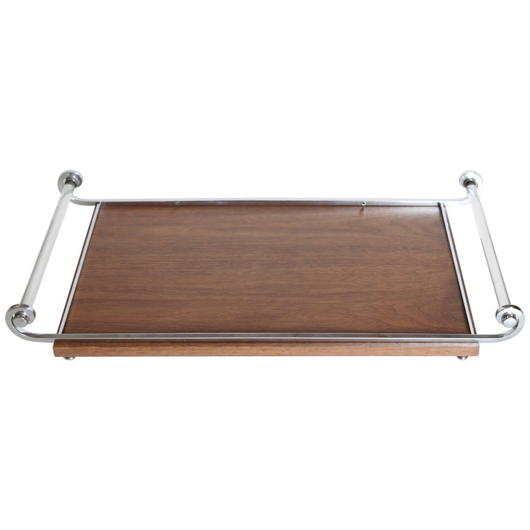 Machine Age Art Deco Cocktail Tray, Manner of James Amster For Sale