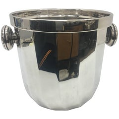 Italian Silver Plated Wine Cooler by Ricci, circa 1970