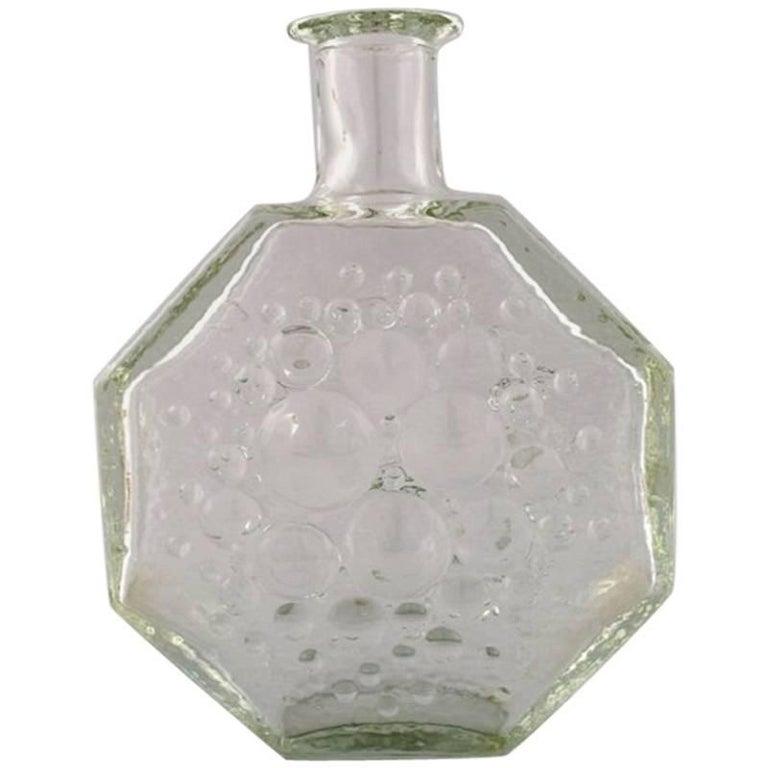 Nanny Still For Riihimen Lasi Finnish Glass Art Vase For Sale At