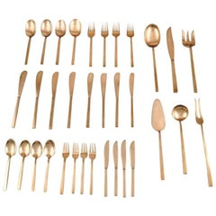 Sigvard Bernadotte 'Scanline' Cutlery Complete for Four