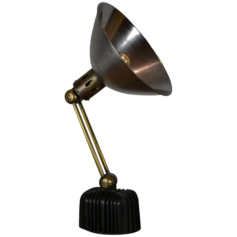 1930s Art Deco Philips Table Lamp, Wall Light
