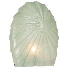 Art deco sea foam green Table Lamp