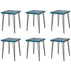 French Cafe Tables, circa 1960s