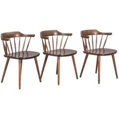"Three ""Smaland"" Chairs Diseñadas by Yngve Ekström"