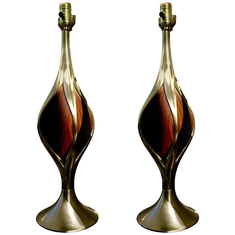 Mid-Century Modern Laurel Table Lamps For Sale