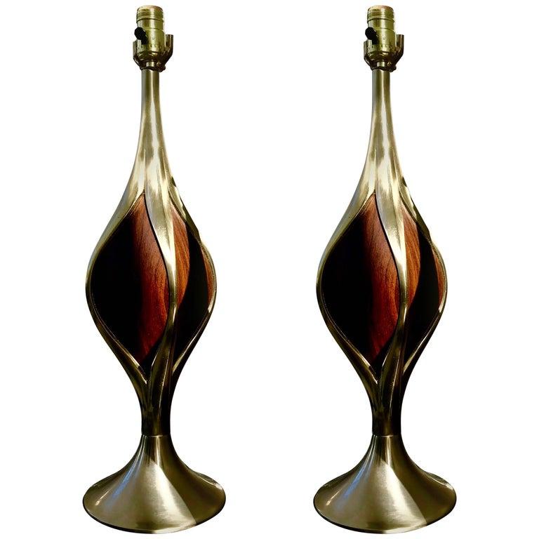Mid-Century Modern Laurel Table Lamps