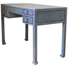 French 1920s Art Deco Desk Attributed to Atelier Martine
