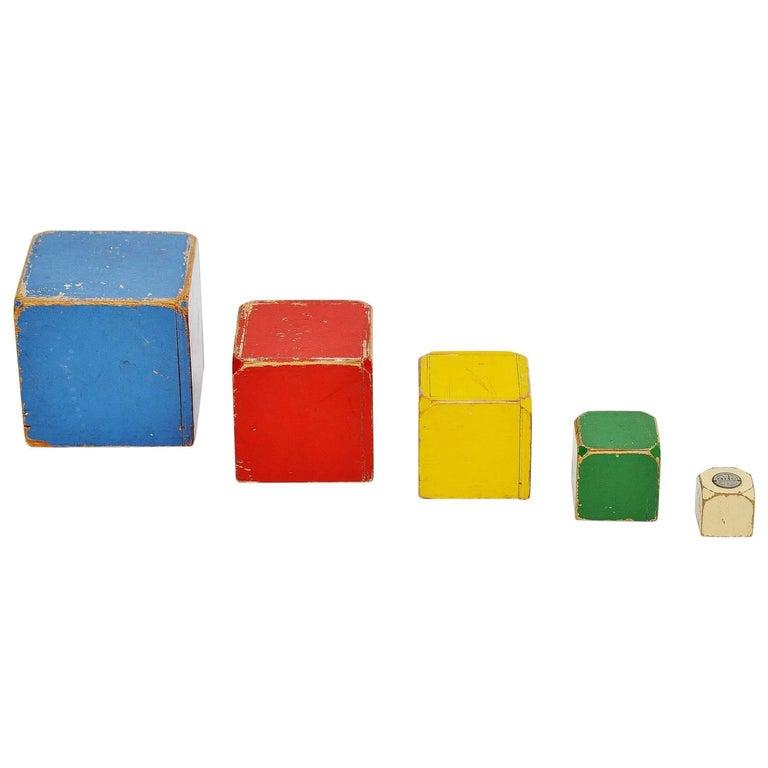 Ado Cubes Set Ko Verzuu, 1950