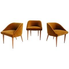 ISA Room Small Armchairs, Set of Three