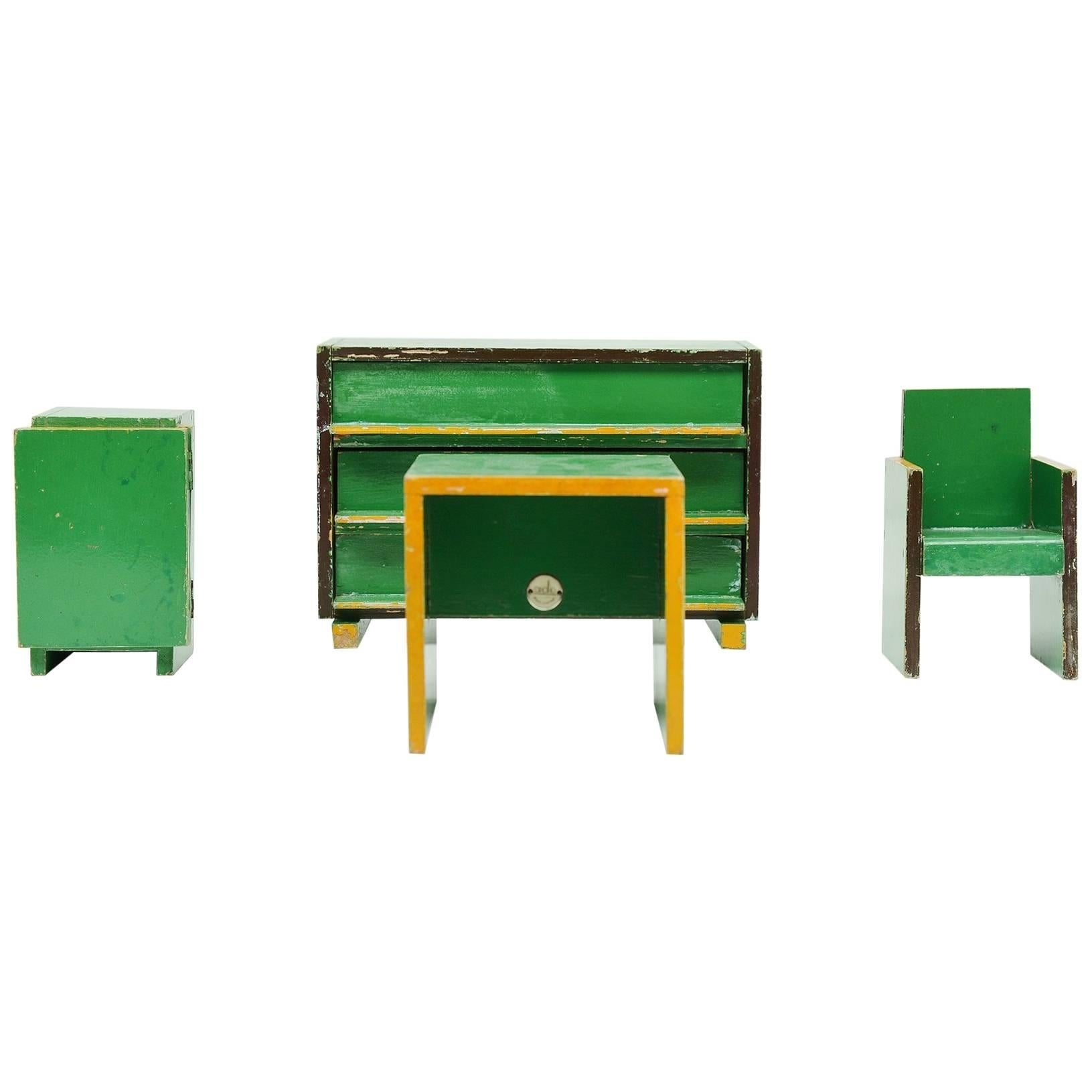 Ado Toy Furniture Ko Verzuu, Holland, 1939