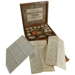 Artist's / Watercolor Box by G. Rowney, circa 1870