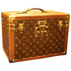 1980s Louis Vuitton Train Case