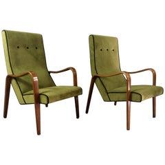 1950s Thonet USA Bentwood Lounge Chairs