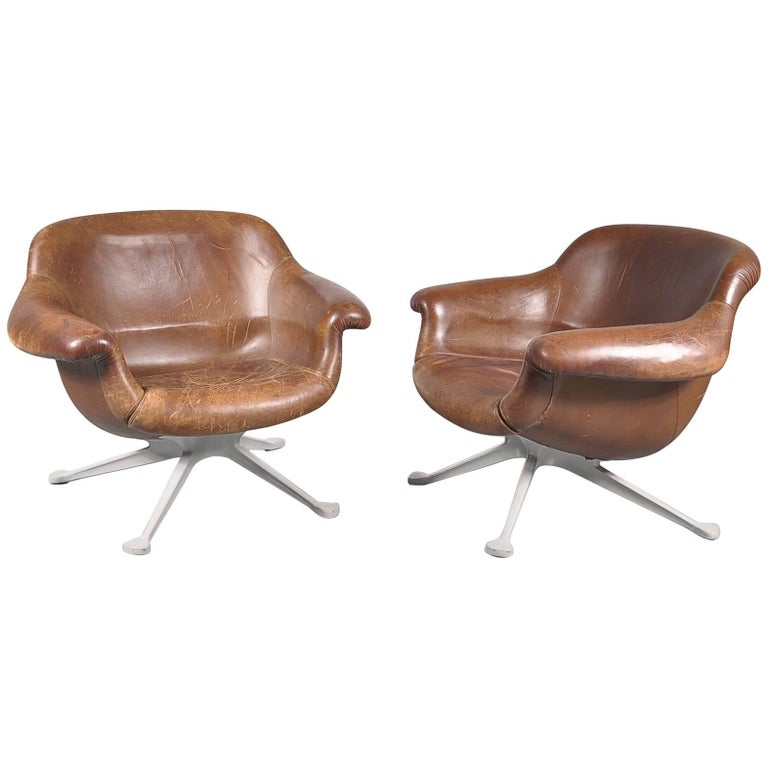 Angelo Mangiarotti Lounge Chair for Cassina, Italy, 1960s