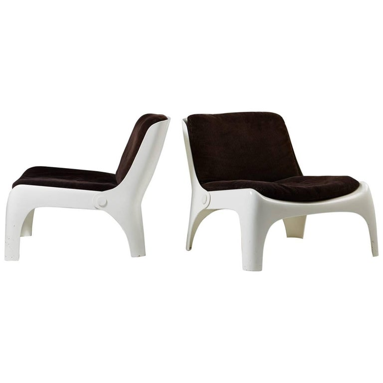 Pair of Armchairs, Anonymous, Italy, 1960s