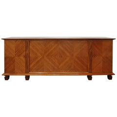 Large French Art Deco Sideboard by David Frères of Marseilles