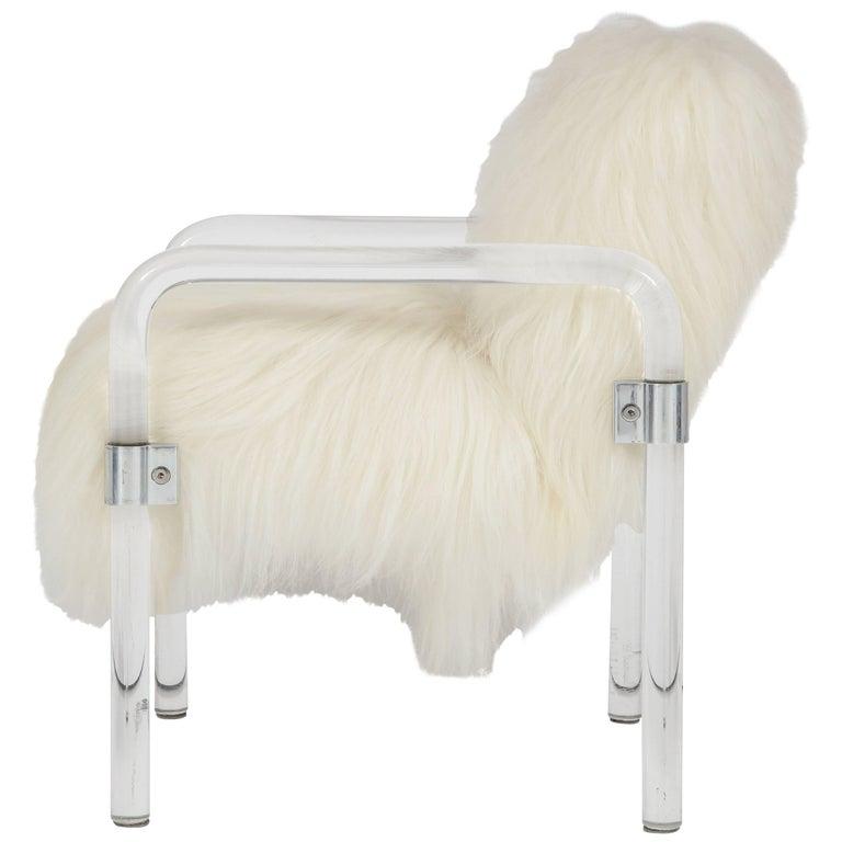 Jeff Messerschmidt Lucite Armchair