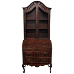 Italian 18th Century Country French Secretary Desk
