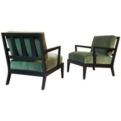 Pair of Lounge Chairs Very Much in the Style of Billy Haines