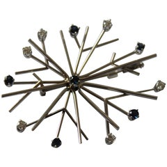 "Brooch ""Snowflake"" by Henning Koppel for Georg Jensen"