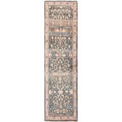 Antique Khorassan Persian Runner Rug