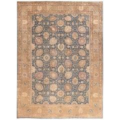 Antique Vase Design Tabriz Persian Rug