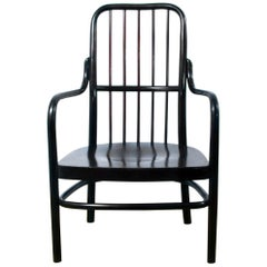 Thonet No. A63/F by Josef Frank Bentwood Lounge or Low Armchair Art Deco