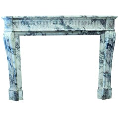 18th Century Marble Fireplace Mantel