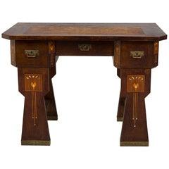 Completely Restored Art Nouveau Writing Desk, 1900-1910