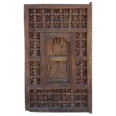 Ifni Brown Moroccan Door/Shutter
