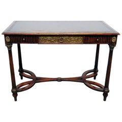 Regency Style Leather Top Desk
