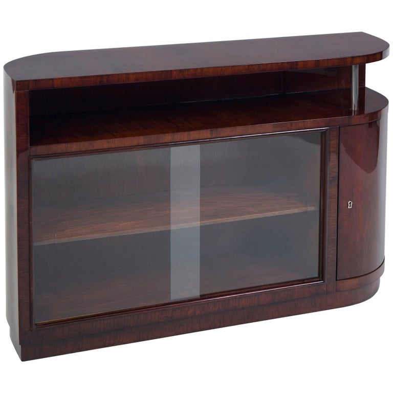 Palisander Art Deco Cabinet from France