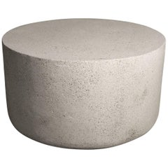 Cast Resin 'Millstone' Coffee Table, Natural Stone Finish by Zachary A. Design