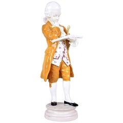 Ceramic Figurine Mozart by Goldscheider, Vienna, circa 1915