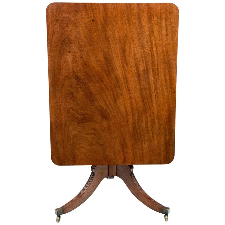 Georgian Mahogany Tilt-Top Table