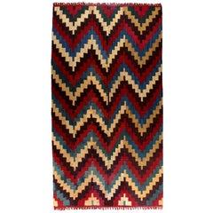 Vibrant Pre-Columbian Nazca Textile Poncho, Peru 200-600 AD, Ex Guillot-muñoz