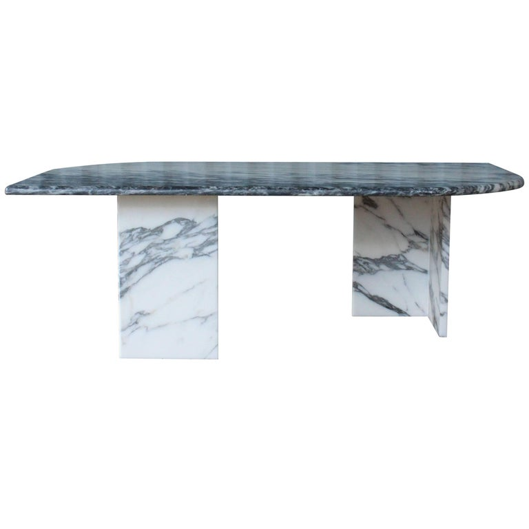 1970s Italian Marble Coffee Table