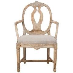 18th Century Swedish Gustavian Armchair