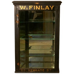 Victorian Front Opening Jeweller's Cabinet