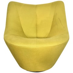 "Pierre Paulin ""Anda"" Swivel High Back Chair for Ligne Roset"