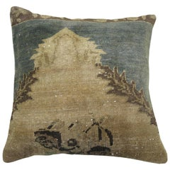 Turkish Sivas Rug Pillow