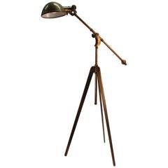 Industrial Style Reading Lamp