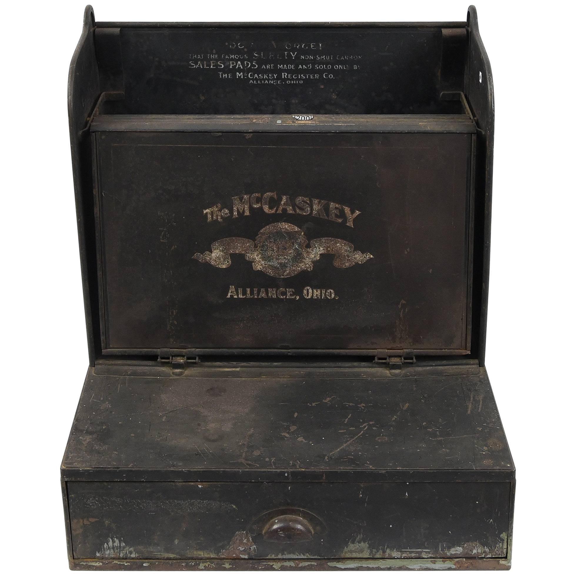 Antique Industrial McCaskey Register Co. Cash Register