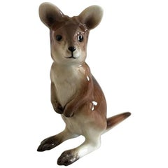 Bing & Grondahl 2002 Mother's Day Figurine of Kangaroo