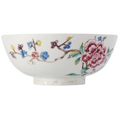 Bowl with Chinoiserie Decoration, Bow Porcelain Factory, circa 1752