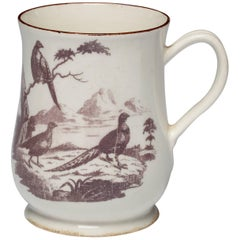 Tankard with Printed Decoration, Bow Porcelain Factory, circa 1758